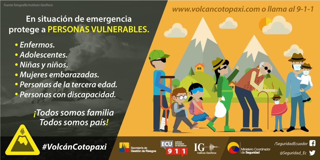 Protege a personas vulnerables